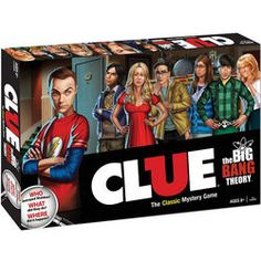 Clue: The Big Bang Theory Edition #bigbangtheory
