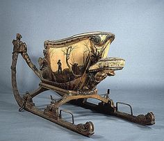 Antique sled 1700s