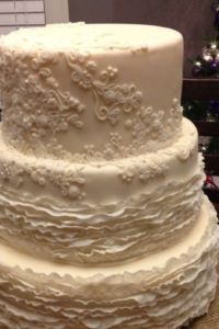 Stunning 3-Tier Wedding Cake (Romantic Cake) - St. John's