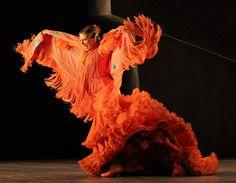 Pastora Galván entregada a su gran pasión, el baile