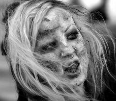 Zombie Walk in Edmonton.