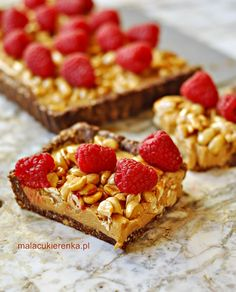 Tarta z masłem orzechowym i orzechami arachidowymi wegańska, bez cukru, bez glutenu | Mała Cukierenka | Bloglovin'