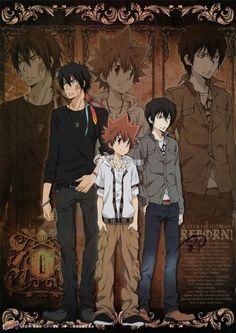 Katekyo Hitman Reborn TYL -- in this arc, they were sooo cool looking… Hitman Reborn, Reborn Katekyo Hitman, Manga Boy, Manga Anime, Anime Art, Reborn Anime, Anime Demon, Anime Guys, Memes