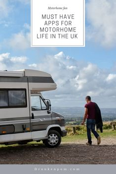 Hitting the road for an extended road trip but not sure what apps will be useful? Check out this list of our favourite apps for touring the UK. Road Trip Essentials, Road Trip Hacks, Road Trips, Best Motorhomes, Rv Apps, Life In The Uk, New Travel, Travel Tips, Road Trip Destinations