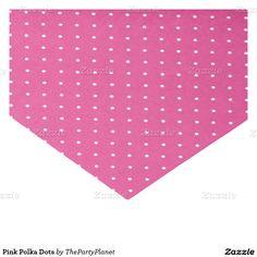 "Pink Polka Dots 10"" X 15"" Tissue Paper"