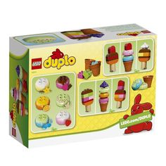 Lego Duplo Creative Ice Cream Large Tactile Bricks Kids Toys Cones Playing Home 673419209021 | eBay