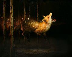 art blog - Martin Wittfooth - empty kingdom