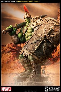 SIDESHOW COLLECTIBLES GLADIATOR HULK SMASHES HIS WAY TO YOUR SHELVES IN APRIL