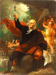 Benjamin Franklin Drawing Electricity from the Sky by Benjamin West - Art Print Benjamin Franklin, Mary Shelley, Sky C, Painting Prints, Art Prints, Paintings, Sky Painting, Google Art Project, West Art