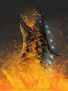 Inferno by gothrockchick.deviantart.com on @DeviantArt Made me think of Queen Battlewinner