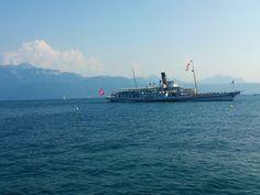 Switserland lake Lausanne