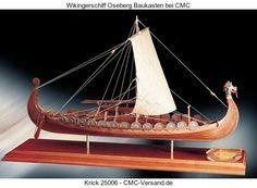 Wikingerschiff Oseberg  Baukasten 25006 Krick