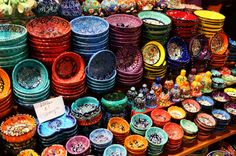 The world's oldest, and one of the world's largest covered markets, the Grand Bazaar has everything from traditional Iznik pottery to precious gemstones and colorful Turkish lanterns. #agoda