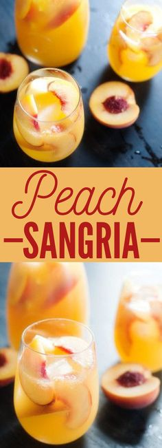 Peach sangria Mothers Day Brunch for Mom The post Peach sangria appeared first on Getränk. Refreshing Drinks, Summer Drinks, Cocktail Drinks, Fun Drinks, Healthy Drinks, Cocktail Recipes, Beverages, Summer Sangria, Cocktails 2017