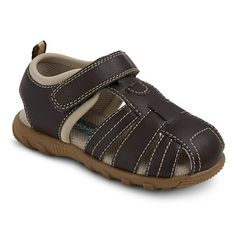 PTA: Toddler Boy's Scott David® Carson Sandals - Assorted Colors - Brown