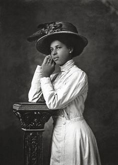 THE BLACK EDWARDIAN'S | 1910 Portrait of Malissa Hardin by Joseph Pennell. Joseph C. Pennell Collection, University of Kansas. Lawrence, KS