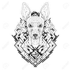 http://previews.123rf.com/images/airindizain/airindizain1602/airindizain160200040/52248818-Black-and-white-animal-Dog-head-abstract-art-tattoo-doodle-cketch-Dog-breed-Toy-fox-terrier-Outlines-Stock-Vector.jpg