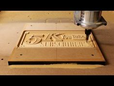 Casting an Aluminum Sign, Making the CNC Pattern | 5k Part 1 - YouTube