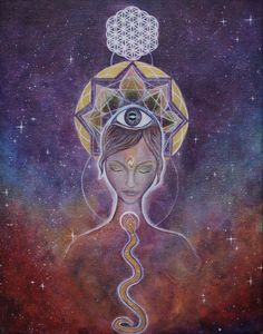 Third Eye Ajna ~ Artist Info: Nicole Boudreaux, title: 'New Vision'