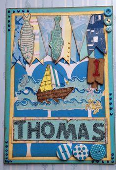 Nautical Child's Card