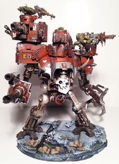 Warhammer 40K Looted Ork Imperial Knight Pro Painted Commission Peace | eBay