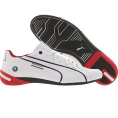 Puma Racing Nyter - BMW (white / blue / ribbon red) 304320-01 - $119.99 I want these