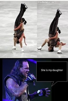 Better then Dad Tombstone Piledriver !