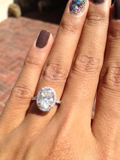 In Need of Oval Gemstone Ring Pics! « Weddingbee Boards