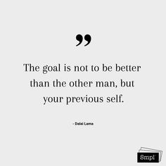 @smplsweden posted to Instagram: The goal is not to be better than the other man, but our previous self. - Dalai Lama #dalailama #buddhism #goal #life #keepitsmpl #citat #quotes #smpl #hållbarvardag