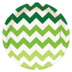 Chevron Green Dinner Plates  sc 1 st  Pinterest & Fresh Lime (Lime Green) Dinner Plates | Green dinner plates and Products
