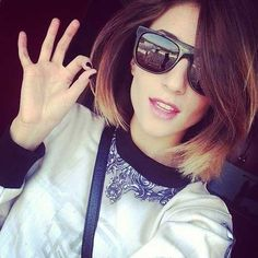 Medium Length Ombre Bob for Girls