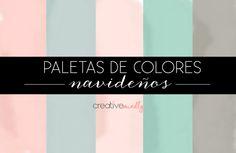PALETAS DE COLORES PARA NAVIDAD
