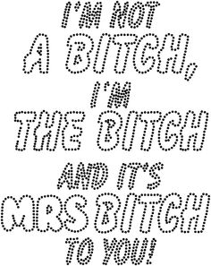 Swear Words Coloring Pages Mrs Bitch For Grown Ups To Print Free
