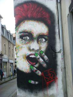 street art quimper Finistère