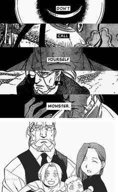 Fullmetal alchemist, FMA, Hohenheim, Trisha, Alphonse, Edward