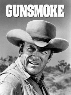 James Arness as Matt Dillon in Gunsmoke, 1955-1975.