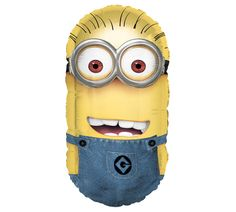 """Despicable Me 1 & 2 are all the rave in the box office these weeks. Bring the characters to life for your kids with this minion balloon from #burtonandburton! We also just pinned a """"Despicable Me Minion Bento Lunch"""" that is so fun... #school"""