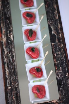 Beetroot ravioli hearts