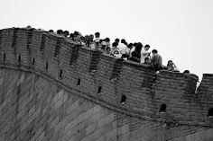 Nikon - Nikkor AF 180 AE Image: Taken: great Wall - Near Beijing (China) © All rights reserved. Use this photo without my explicit permission is illegal. Beijing China, Louvre, Architecture, Wall, Travel, Image, Arquitetura, Viajes, Walls