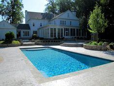Standard Inground Pool Size Average Pool Size Gallons In ...