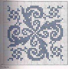 жаккард узором гжель схемы: 17 тыс изображений найдено в Яндекс.Картинках Cross Stitch Borders, Cross Stitch Designs, Cross Stitching, Cross Stitch Embroidery, Cross Stitch Patterns, Quilt Patterns, Filet Crochet Charts, Crochet Cross, Knitting Charts