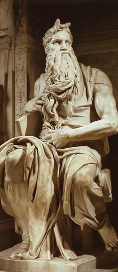 Statue of Moses by Michelangelo at Basilica di San Pietro in Vincoli - Rome | Italy