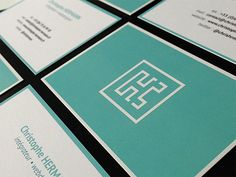 Christophe Hermann Business Cards | Business Cards | The Design Inspiration