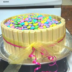This one would be great for Easter, but filled up with Mini eggs  an easter decoration in the middle! :)