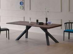 Compra en línea Gustave plus by Miniforms, mesa extensible de madera diseño Paolo Cappello
