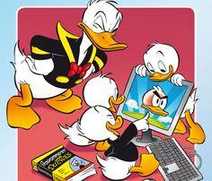 Digitaal in Duckstad download de DigiDuck op deze website! Er zit ook een leuke prijsvraag bij!
