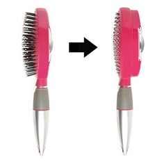 A brush with retractable bristles that make removing the hair you shed way easier.
