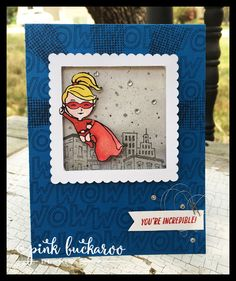 Everyday Hero by Stampin' Up Designed by Erica Cerwin @ Pink Buckaroo Designs