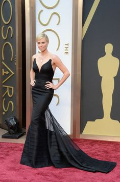 Charlize Theron at the Oscars 2014
