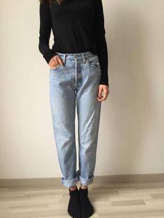 Denim Levis jeans s vysokym pásem - vinted.cz Style De Rue À Copenhague, b4f8c8b4fe8